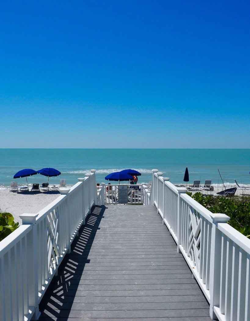 Beach Boardwalk on Boca Grande