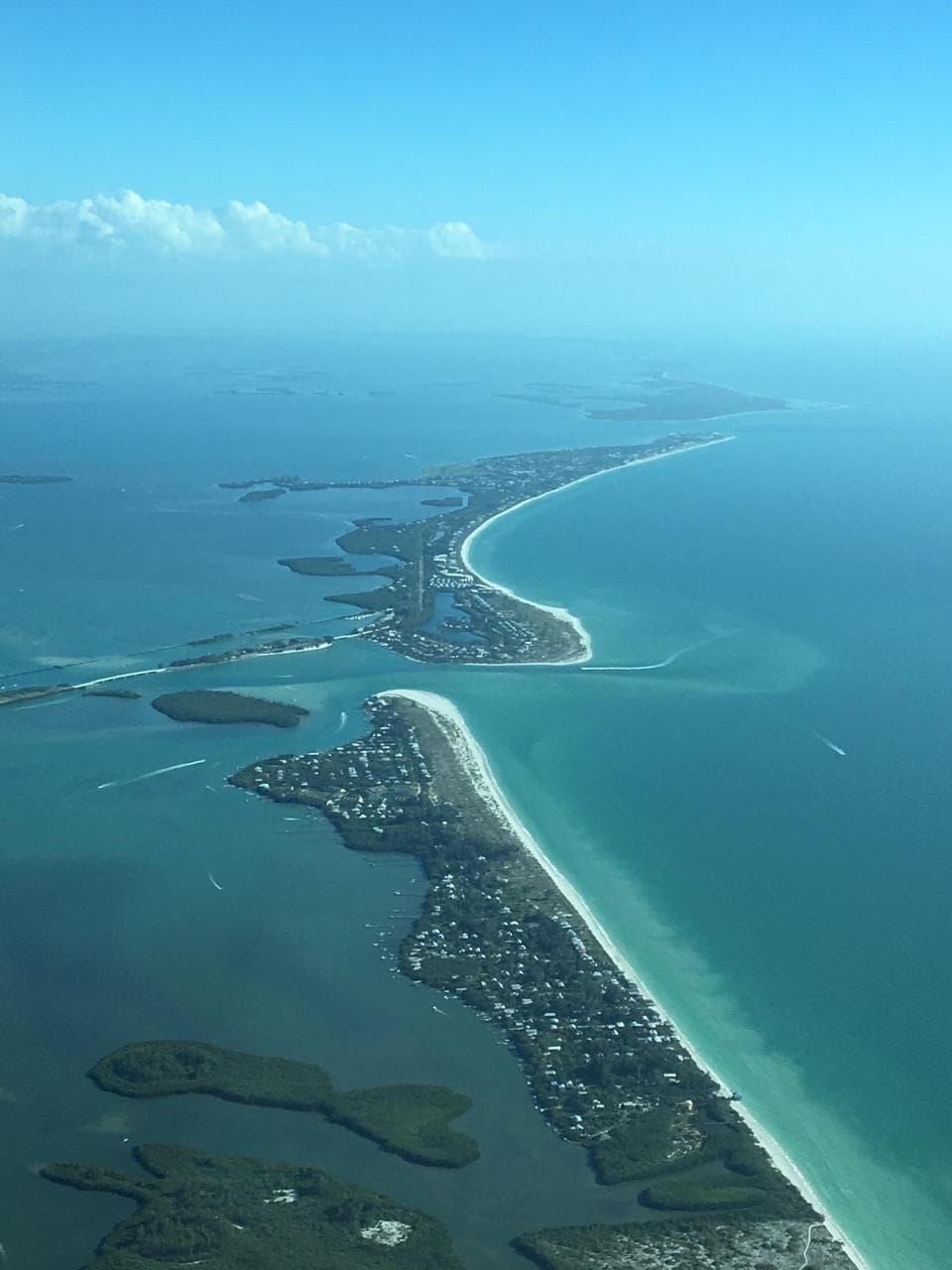Boca Grande from the air