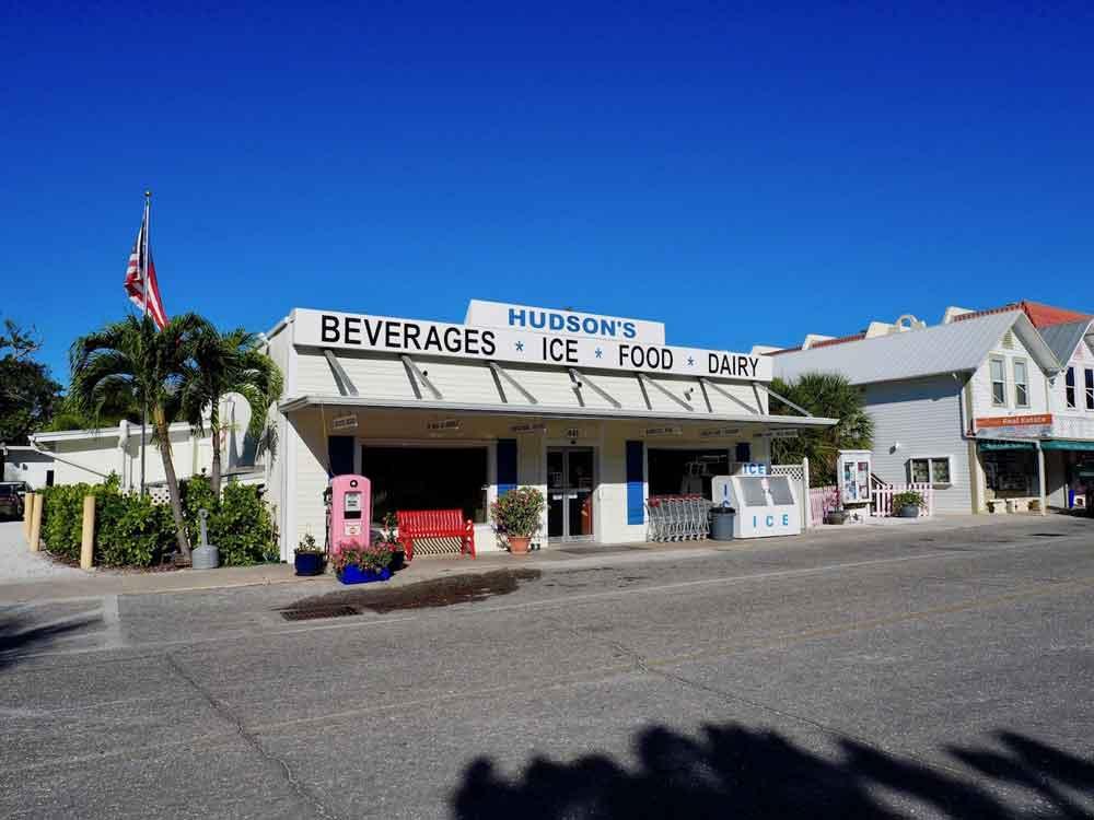 Hudson's Grocery Store on Boca Grande